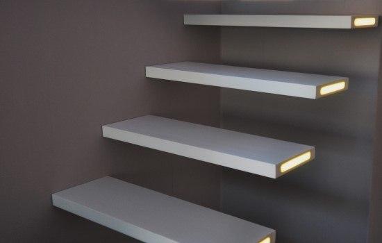 Zwevende Trap Veiligheid : Zwevende trappen foto impressies